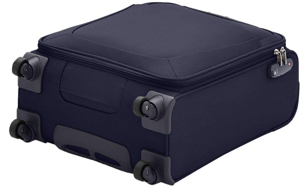 Samsonite Valise cabine souple Base hits test